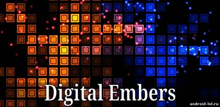 Digital Embers Live Wallpaper