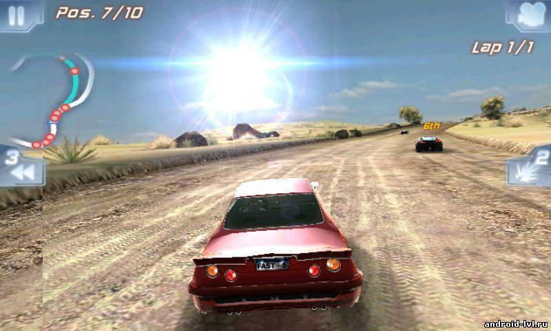 Первый скриншот Fast Five the Movie: Official Game HD