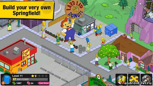 Третий скриншот The Simpsons™: Tapped Out