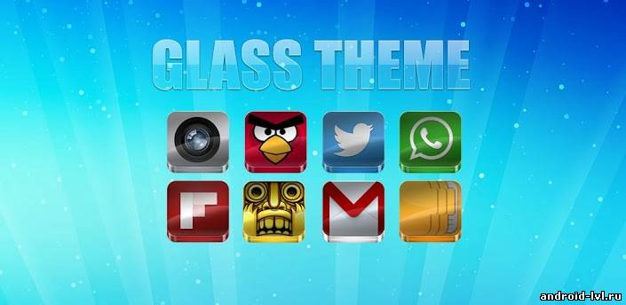 Glass Apex-Nova-Go Theme