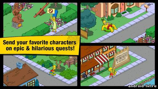 Четвёртый скриншот The Simpsons™: Tapped Out