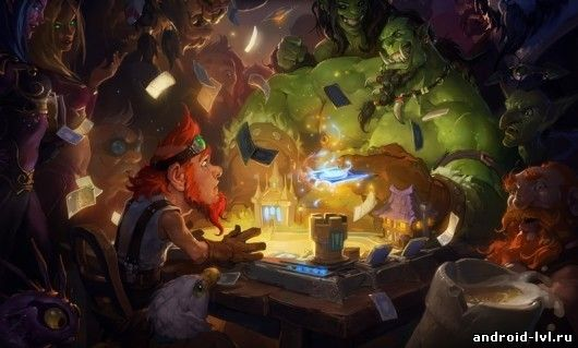 Первый скриншот Hearthstone: Heroes of Warcraft