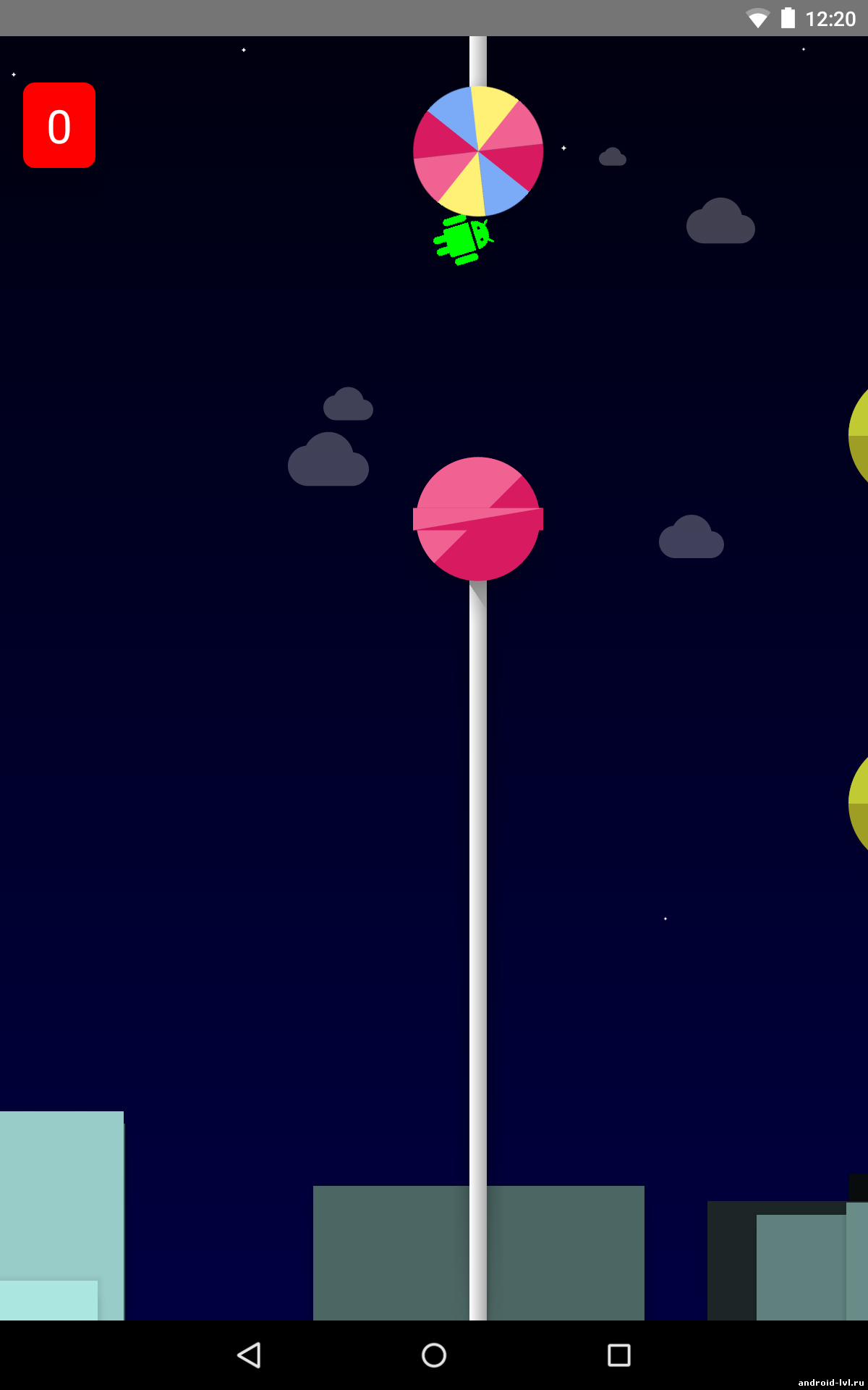 Пасхалка в Lollipop — Flappy Bird в стиле Android